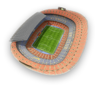 Camp Nou 3D stadium